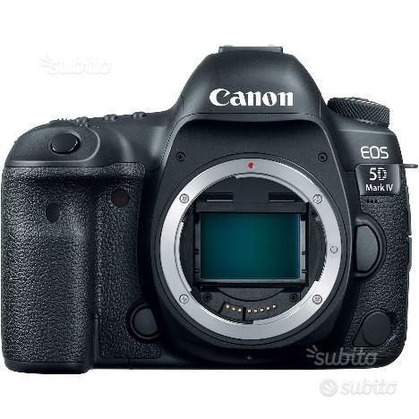 Canon reflex eos 5d mark IV NUOVO