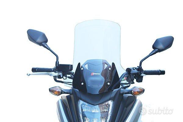 Cupolino honda nc750x 16 / 17 alto trasparente