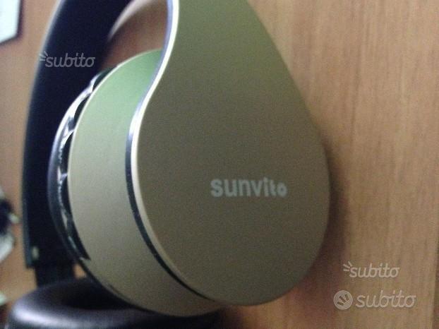 Cuffie sunvito Wireless stereo fm
