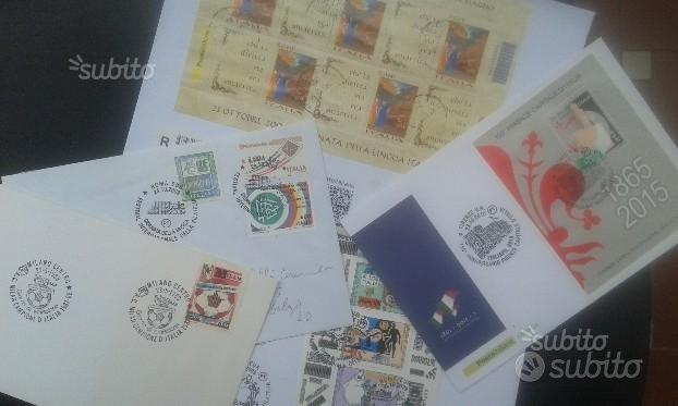 Cartoline francobolli codice barre storia postale
