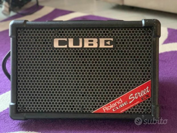 Roland Cube Street Ex Battery Powered Stereo Ampl