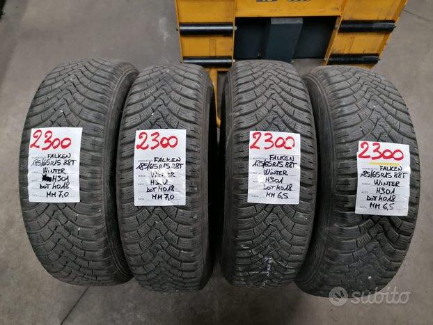 Rif.2300 4 pneumatici invernali usati 185/65 r15 f