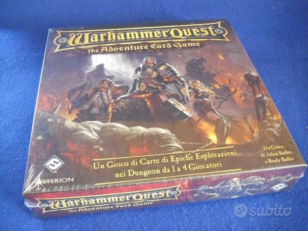 Warhammer Quest Adventure Card Game ED. ITALIANA