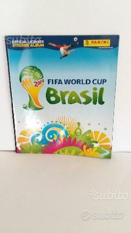 Sticker album panini world cup brasil 2014