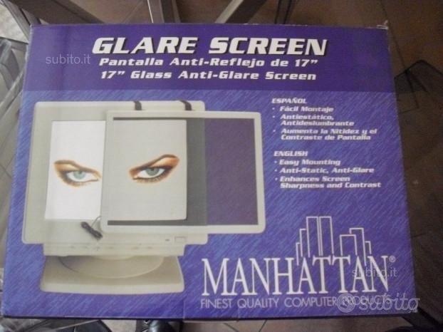 """Pannello in vetro anti riflesso per computer 17"""""""
