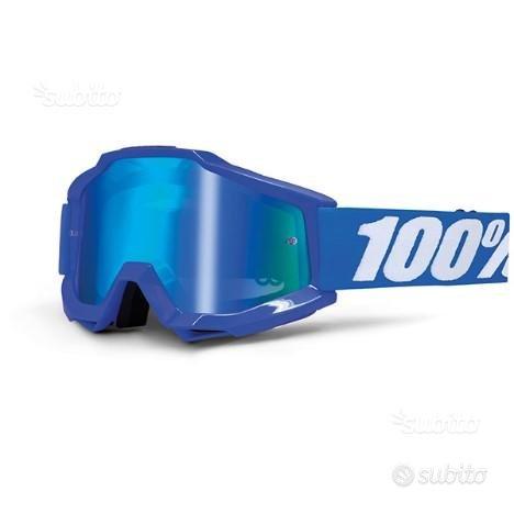 Maschera 100% accuri reflex blue specchio