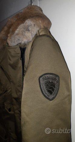 Blauer giacca piumino tg. M verde militare
