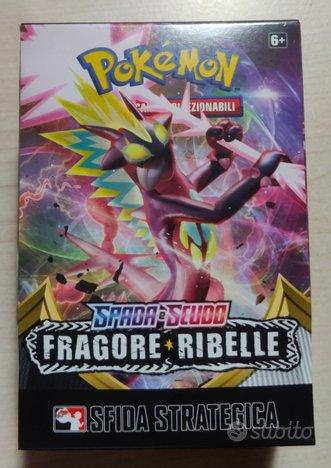 Box prerelease pokemon FRAGORE RIBELLE kit sealed