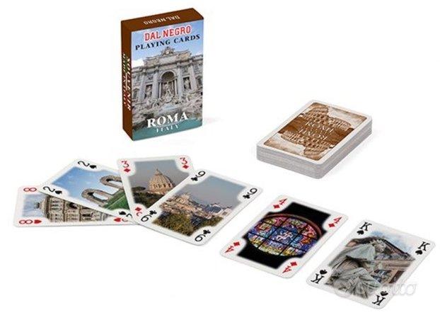 Mini Poker Dal Negro Marrone Souvenir Roma