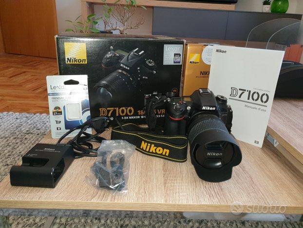 Nikon d7100 + obiettivo 18-105 vr