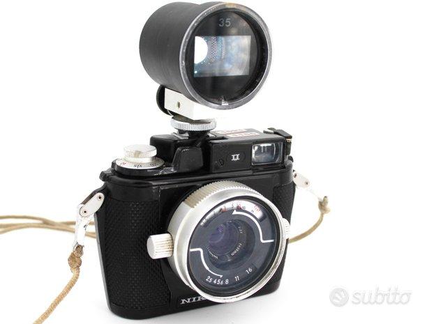 Nikonos II - Fotocamera subacquea 35 mm - 1970