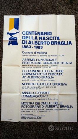 Poster Centenario della nascita di Braglia Modena