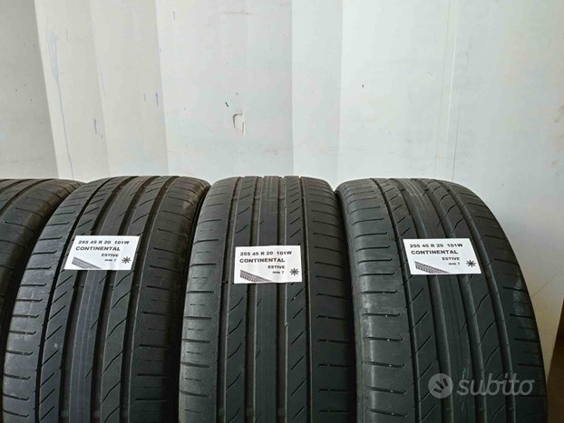 Gomme usate 255 45 r 20 continental estive
