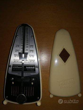 Metronomo e flauto