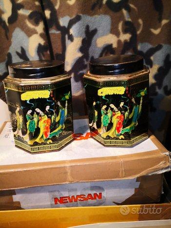 Scatole latta the Cina