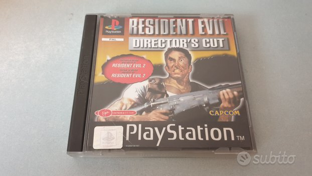 Resident evil playstation 1 ps1 perfetto