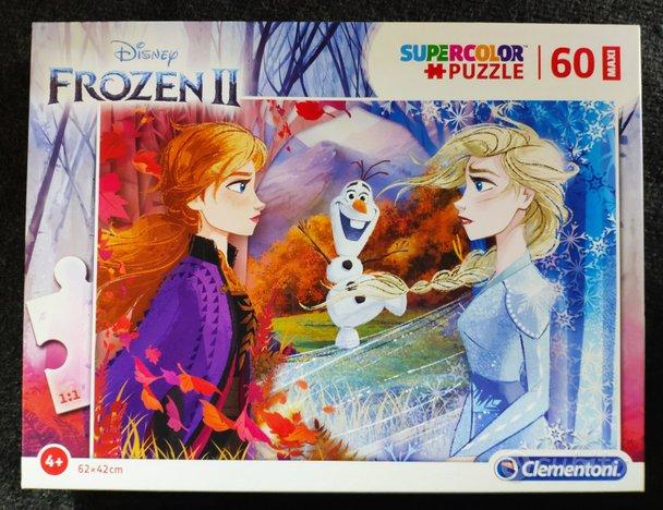Puzzle 60pz maxi Supercolor Disney Frozen 2
