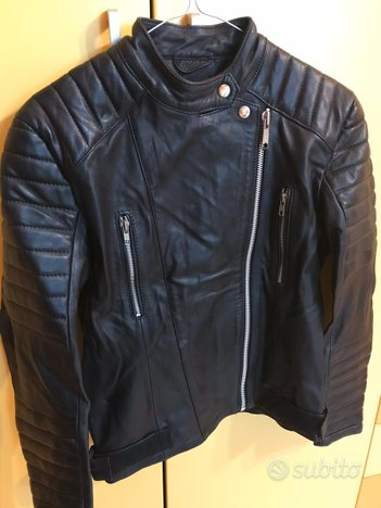 Giacca pelle donna tg M