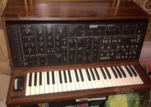 Collezione di sintetizzatori vintage