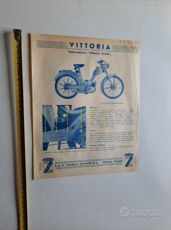Vittoria Carnielli 48 Sachs 1952 depliant moto