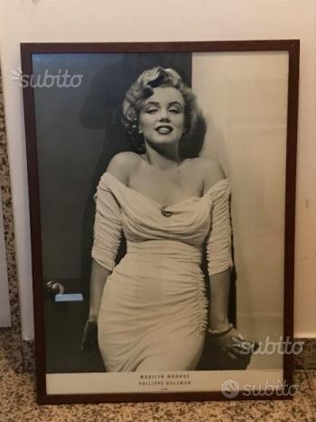 Quadro vintage anni 80 Marilyn Monroe