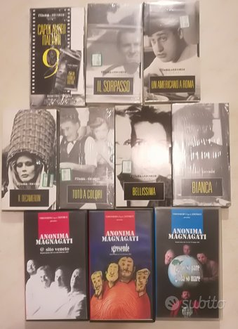 VHS - FILM Vari TUTTI NUOVI (a scelta)