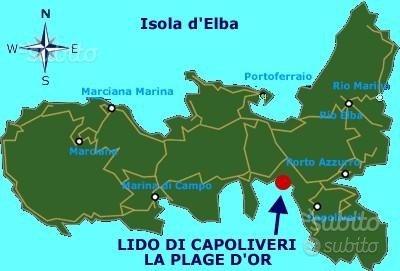 ELBA 550metri dalla spiaggia di Lido di Capoliveri