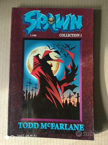 Spawn Collection serie completa n.1-6