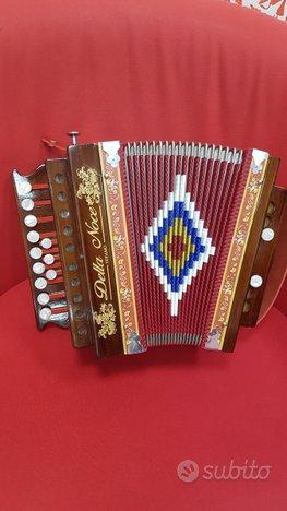 Organetto 2 bassi Della Noce Abruzzese in LA.Scuro