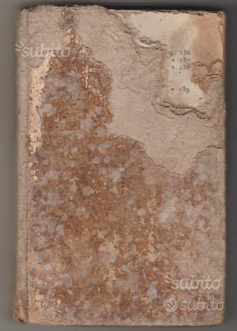 Libro antico ecclesiastico epoca 1800 Vita di Gesù