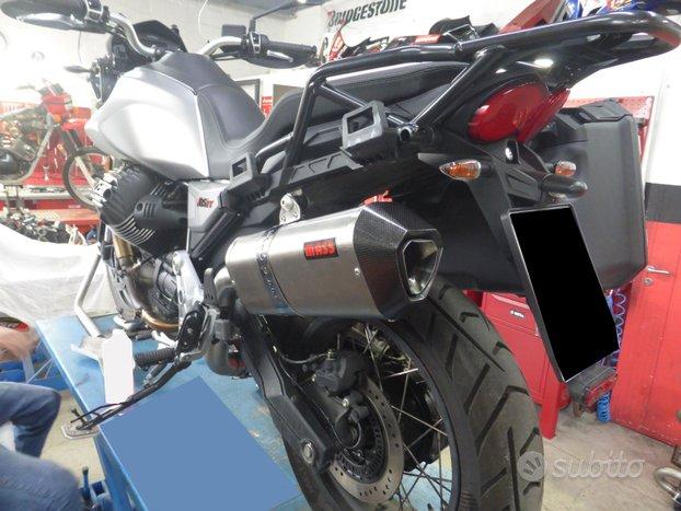 Scarico MASS PRISMA in titanio per Moto GuzziV85TT