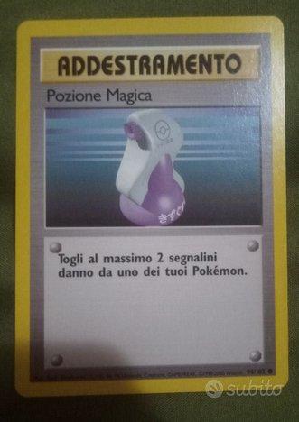 Carta Pokemon ADDESTRAMENTO 1999-2000