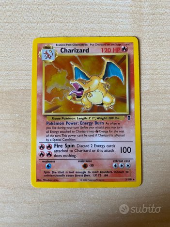 2002 Legendary Collection Charizard Holo 3/110