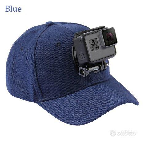 Cappello accessorio per Action Cam attacco GoPro