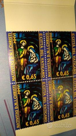 Città del Vaticano emissioni filateliche 2006 e al