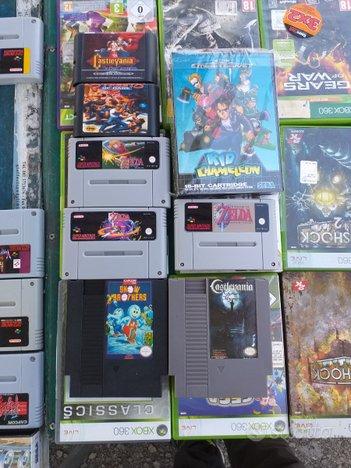 Lotto Videogiochi NES-SNES-GameBoy-Mega Drive-N64