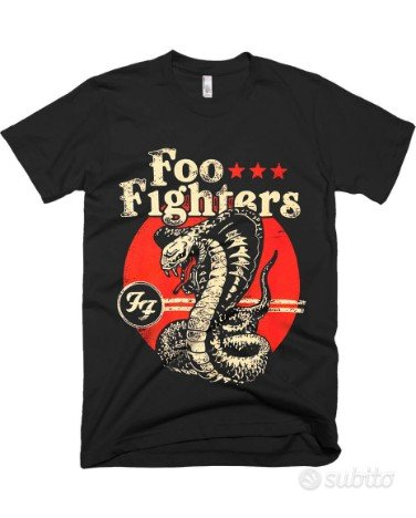 t shirt foo fighters