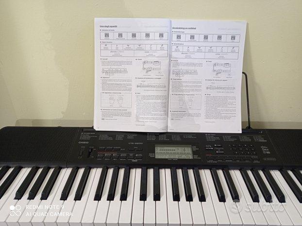 Pianola Casio CTK 3200