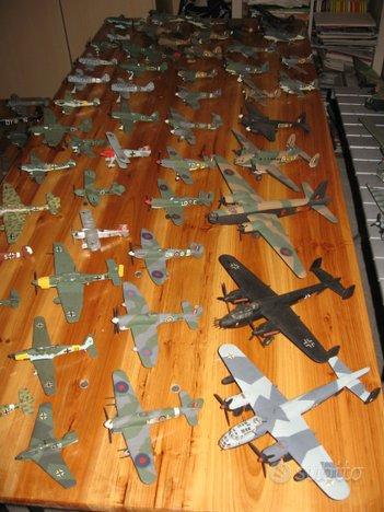 Aerei scala 1/72 Seconda Guerra Mondiale