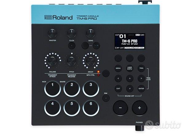 Roland TM-6 PRO Trigger Module MODULO TRIGGER PER