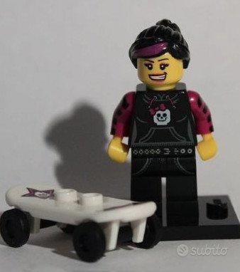 Lego minifigures Serie 6 Skater Girl