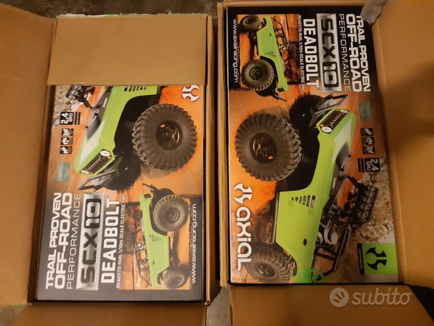 AXIAL SCX10 DEADBOLT Scala 1/10