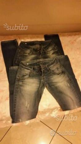 2 jeans donna terranova tg xs sz extra