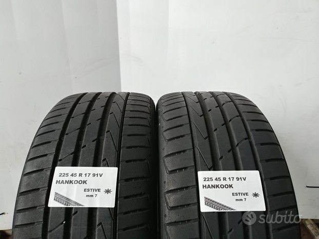 Gomme usate 225 45 r 17 hankook