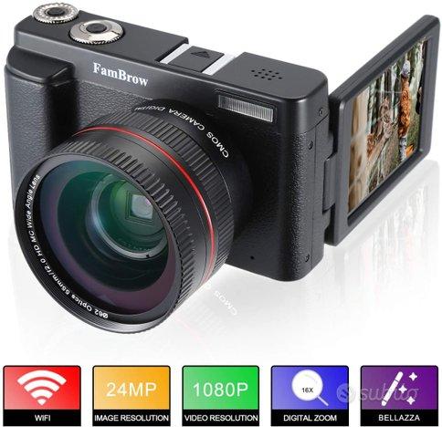 Fotocamera Videocamera 4k HD WiFi