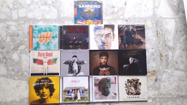 CD Originali Artisti Italiani