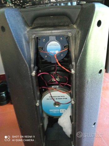 Cassa amplificata DB technology 410D