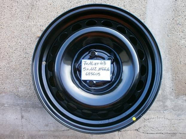 Rif.1033 cerchi in ferro 16 per mercedes