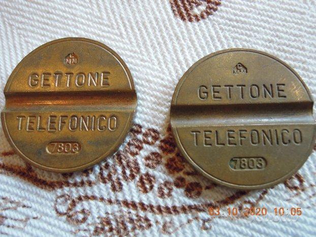 Gettoni telefonici 7803