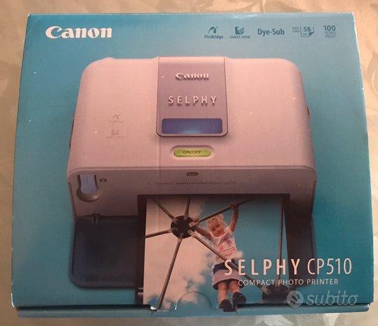 Selphy cp510 stampante fotografica canon